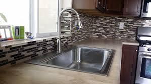 kitchen sink splashback tiles countertops and backsplash
