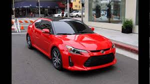 scion 2016 scion tc absolutely red youtube