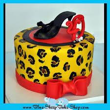 leopard print 40th birthday cake blue sheep bake shop