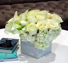 white hydrangeas white roses callas and hydrangeas in beverly ca muguet
