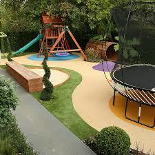 childrens play area garden design gardening faves pinterest