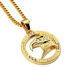 gold necklace hip hop images Fashion high quality hip hop jewelry men pendant necklaces studded jpg