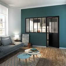 escalier entre cuisine et salon la verrière intérieure en 62 idées pour toute la maison photos