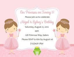 template cheap disney princess birthday invitations etsy with