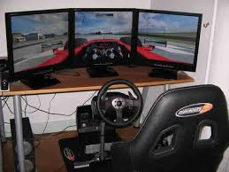 how to build your very own kick racing simulator