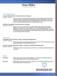 Resume Format Chronological Select The Best Professional Resume Format 2017 Resume Format 2016