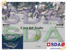 Acapulco Mexico Map by Dive Maps Acapulco Sda Swiss Divers Association