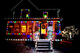 pictures of christmas lights on houses yet in thy dark streets shineth the everlasting light s albert