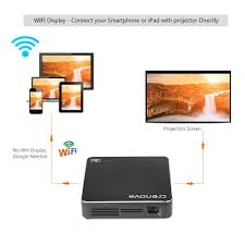 dlp projector crenova xpe700 pico pocket video projector mini