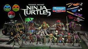 list teenage mutant ninja turtles action figures 2012 present