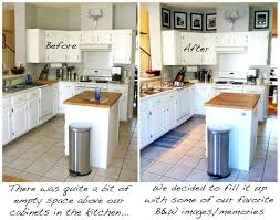 empty kitchen wall ideas kitchen decorating ideas space above cabinets saving for design