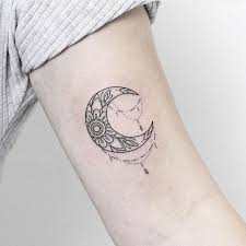 1000 ideas about crescent moon tattoos on moon tattoos