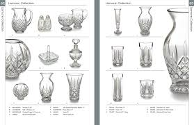 Waterford Crystal 8 Vase Roher Sprague Partners Waterford Crystal Catalog