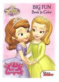 sofia disney junior coloring book amber girls