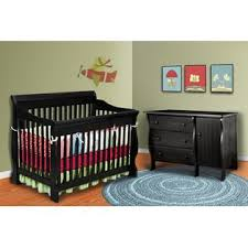 Delta Canton 4 In 1 Convertible Crib Delta Children Canton 4 In 1 Convertible Crib In Black Baby