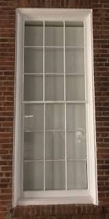 9 light door window replacement 9 lite window sash with glass vintage workshop