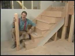 How To Build A Stair Banister 18 Install The Newel Posts How To Build Stairs Youtube