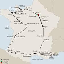 Burgundy France Map by Globus Tours La France Ra