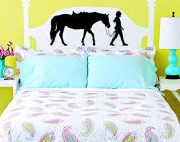 horse decal pony wall sticker teen girls bedroom decor western