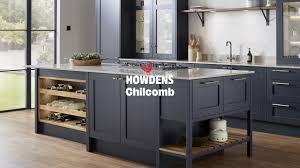 navy blue kitchen cabinets howdens chilcomb kitchen range