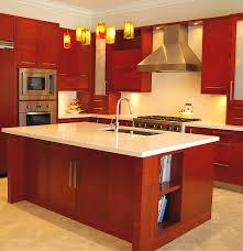 l shaped kitchen design ideas teresas family fabulous red maroon