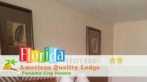 american quality lodge panama city hotels florida youtube
