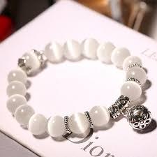 white bead bracelet images Pearl white beads bracelet xciii jpg