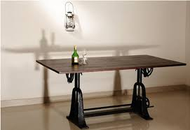 Drafting Table Edmonton Bringing In Your Choice Of Industrial And Steampunk Furniture From