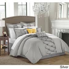 Ruffled Bed Set Chic Home Nancy Ruffled Comforter Set Free Shipping Ruffle