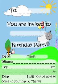 Boy Birthday Invitation Cards 19 Inspirational Birthday Party Invitation Cards And Templates