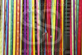 carnival decorations carnival decorations of colorful ribbons sunnystock