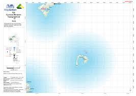Map Of Fiji Cyclone Winston Fiji February 2016 Mapaction