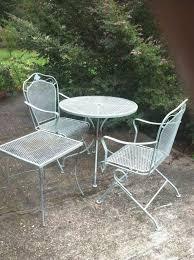 patio furniture rehab elegant how to spray paint metal outdoor