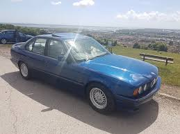 1994 bmw e34 525i m sport avus blue in havant hampshire gumtree