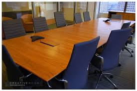 Conference Table With Chairs Conference