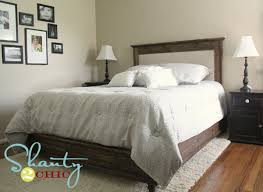 Fabric Headboard Queen by Ana White Chestwick Upholstered Headboard Queen Diy Projects