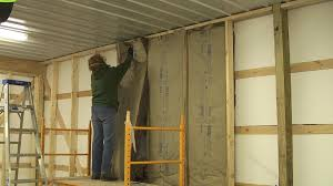 pole barn inside walls and insulation youtube