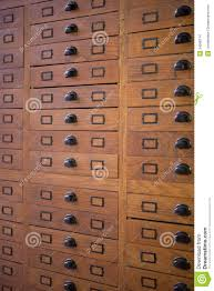 vintage file cabinet stock images image 34586114