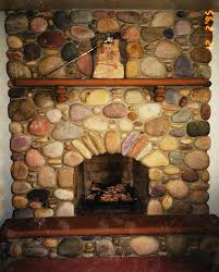 rustic stone fireplaces with granite hearth fireplace