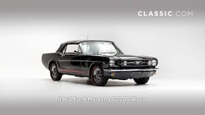 1965 Mustang Black 1965 Ford Mustang Gt289 Black Youtube