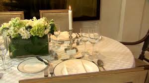 Correct Table Setting by How To Set A Formal Dining Table Part 1 Youtube