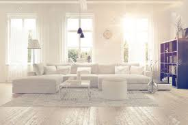 white home interiors modern spacious lounge or living room interior with monochromatic