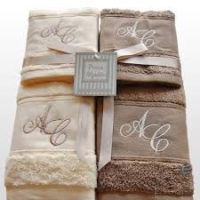 bathroom smooth monogrammed bath towels for your modern bathroom