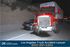 los angeles semi truck accident lawyer david azizi free case