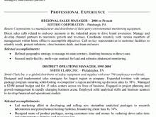 Sales Resume Bullet Points Resume Fill In Template Free Resume