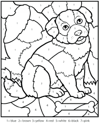 coloring extraordinary numbers to color number coloring pages 1