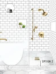 master bathroom design plans one room challenge week 2 our master bath design plan help us