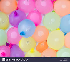 water balloons background of colorful water balloons ready for on a hot