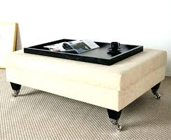 ottoman with storage and tray oversized serving tray slbistro com