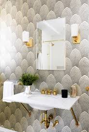 powder rooms with wallpaper powder room wallpaper inspiration fashionable hostess